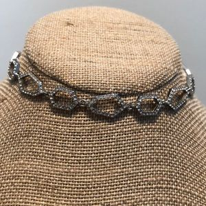Modern Mosaic choker necklace by C+I